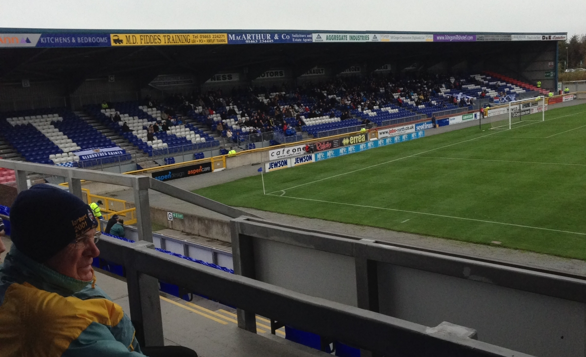 Inverness Caledonian Thistle FC Review Sport Hospitality Ticket