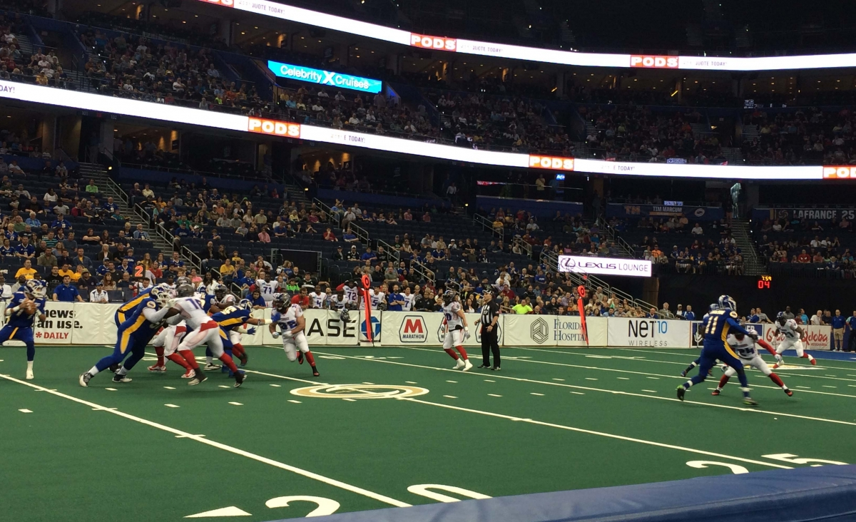 Tampa Bay Storm Review Sport Hospitality Ticket